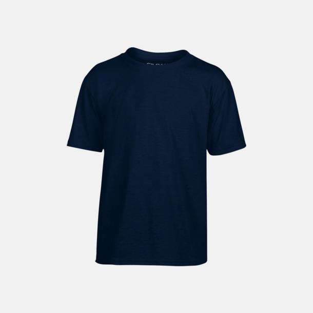 Marinblå Smarta funktionskläder för barn - med tryck
