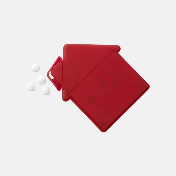 Fresh cards i olika former fyllda med mintgodis - med reklamtryck