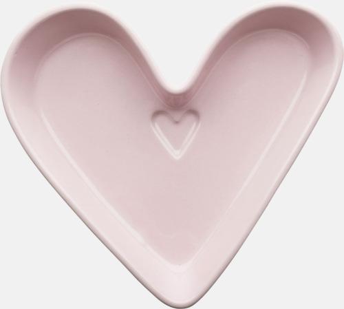 Rosa hjärta Presentskålar i olika former från Sagaform