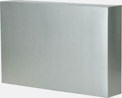 Presentkartong silver (se tillval) Lyxig fleecepläd