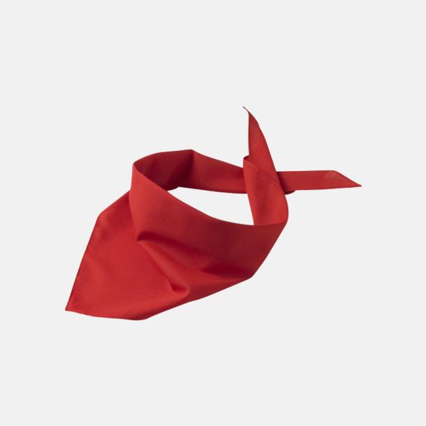 Röd Billiga scarfar med reklamtryck