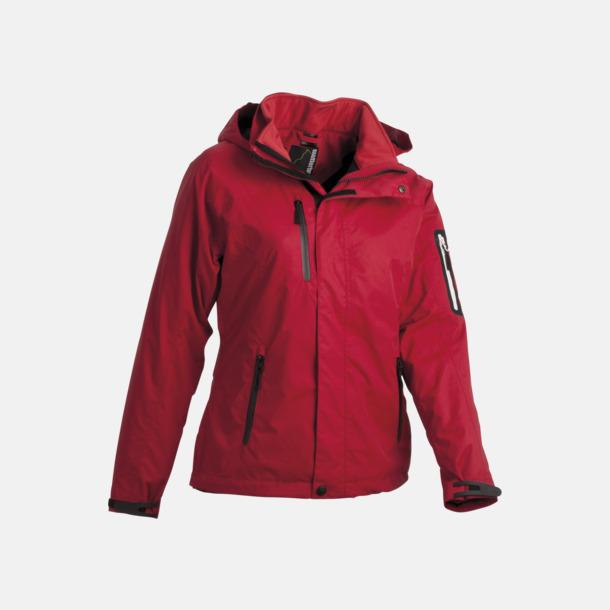 Röd Polyjacket 3 in 1 med eget reklamtryck eller brodyr