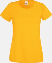 Figursydd damt-shirt med reklamtryck
