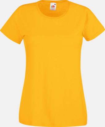 Sunflower Figursydd damt-shirt med reklamtryck