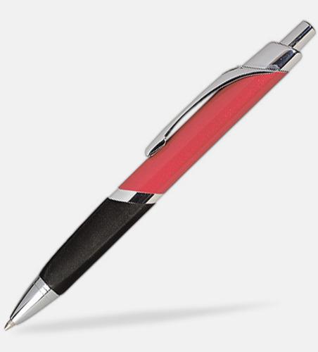 Röd Brandon - Populär trekantig metallpenna