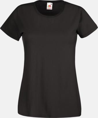 Charcoal (solid) Figursydd damt-shirt med reklamtryck