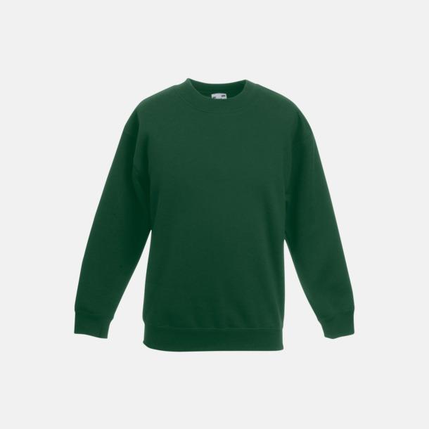 Bottle Green Tjocktröjor för barn med reklamtryck
