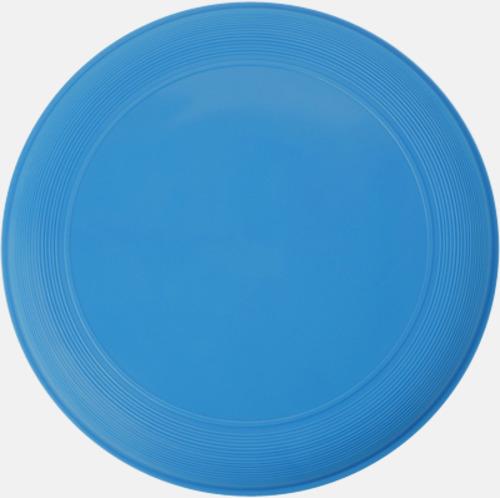 Blå Sportiga frisbees i många färger med reklamtryck