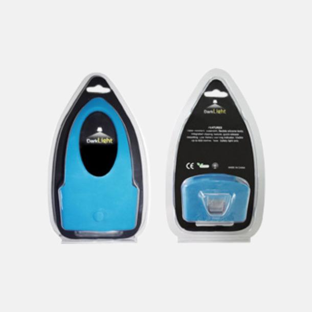 Vattentåliga cykellampor med reklamtryck