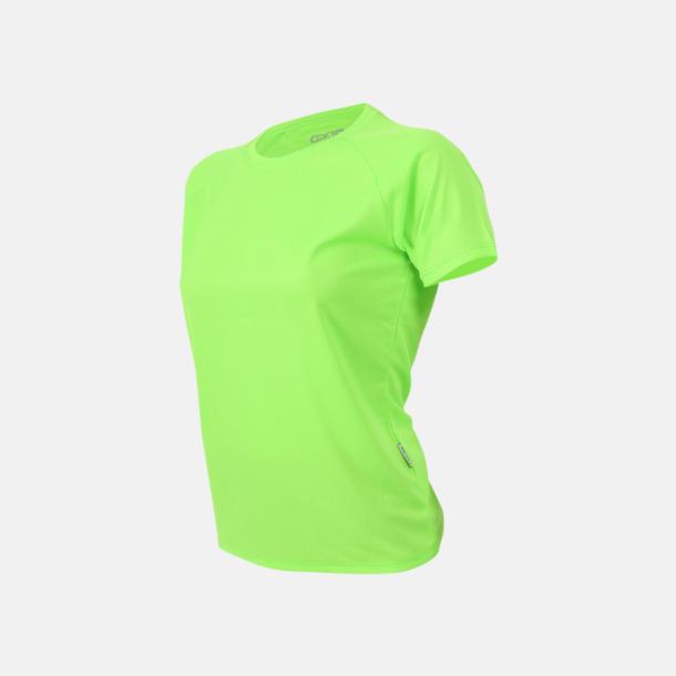 Limegrön Sport t-shirts i många färger - med reklamtryck
