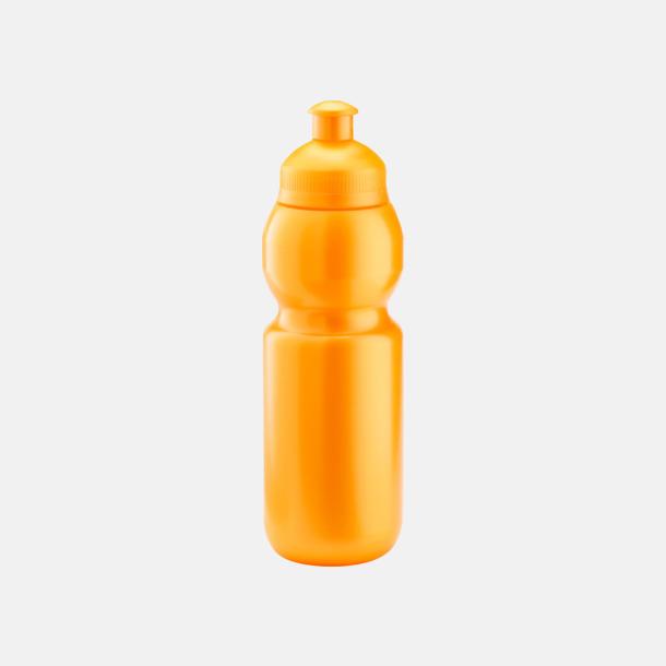 Metallic orange (300 ml) Bulb-vattenflaskor i 4 storlekar med digitaltryck