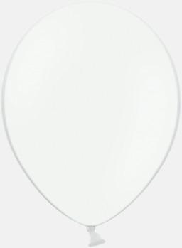 White 002 Ballonger med tryck