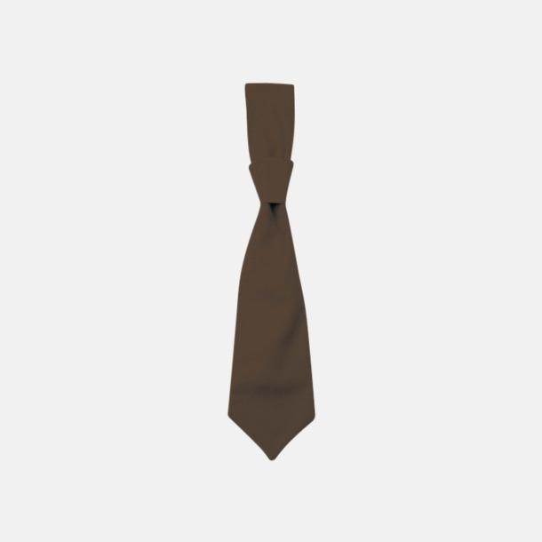 Taupe (slips) Ready-to-wear slipsar och kravatter med eget tryck