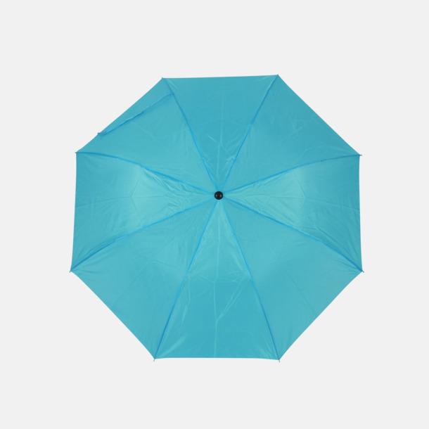 Ljusblå (2) Kompaktparaply i många färgalternativ