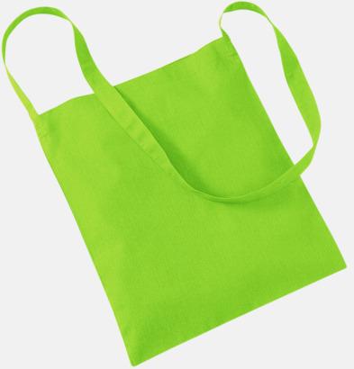 Limegrön Sling - Tygpåsar med eget reklamtryck
