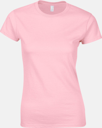 Ljusrosa Billiga t-shirts med tryck