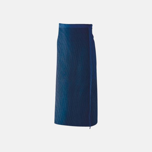 Marinblå (100 x 80 cm) Förkläden i 5 varianter med reklamtryck