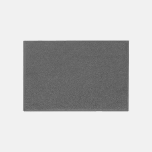 Mörkgrå (30 x 50 cm) Mjuka bomullshanddukar i 5 storlekar med reklambrodyr
