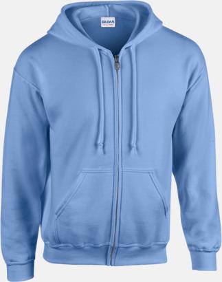 Carolina Blue Heavy Blend-tröja i herrmodell med reklamtryck