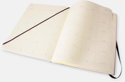 Extra large Månadskalendrar i 3 storlekar från Moleskine med reklamtryck