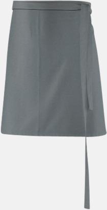 Silvergrå (80 x 45 cm) Förkläden i 5 varianter med reklamtryck