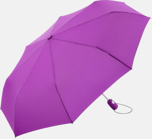 Lila Kompakta paraplyer med eget tryck