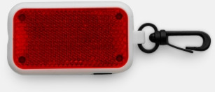 Röd Cykelreflexer med tryck