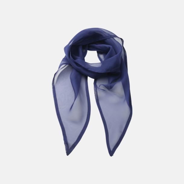 Marine Blue Tunna accessoarscarfs i många färger