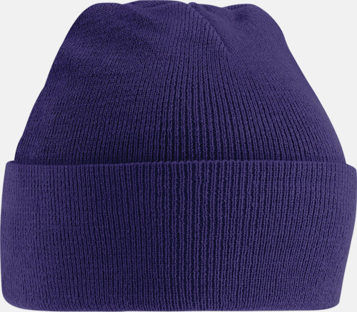Lila (2) Stickad mössa i många färgstarka alternativ