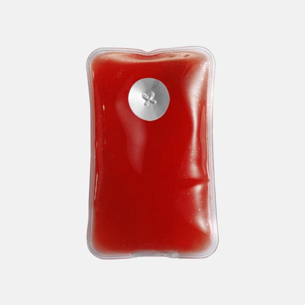 Röd Värmekudde som kan återanvändas
