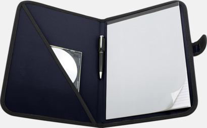 Marinblå Färgglada konferensmappar med eget tryck