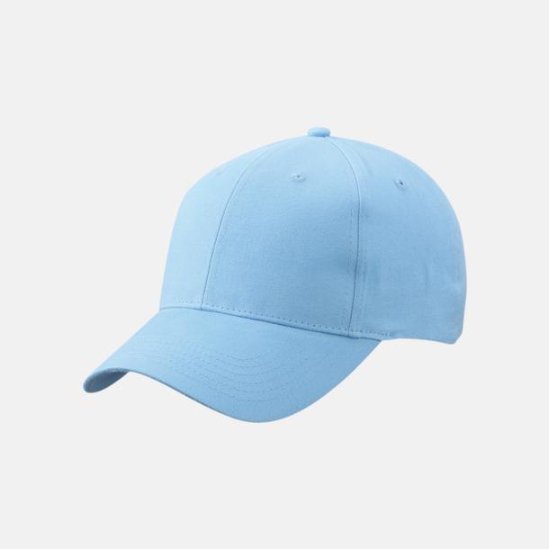 Ljusblå Trendig keps med egen brodyr eller tryck