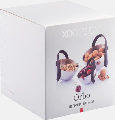 Presentförpackning Tre unika serveringsskålar med reklamtryck