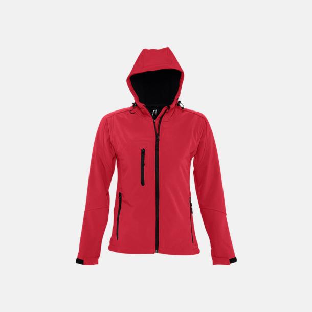 Pepper Red (dam) Softshell jackor i herr-, dam- & barnmodell med reklamtryck