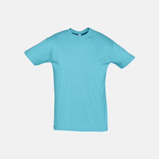 Atoll Blue Billiga unisex t-shirts i många färger med reklamtryck