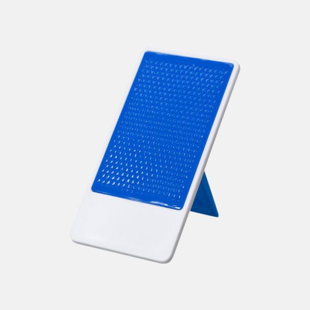 Blå / Vit Glidskyddbehandlat mobilställ med tryck
