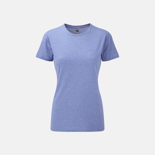 Blue Marl (dam) Färgstarka t-shirts i herr- och dammodell med reklamtryck