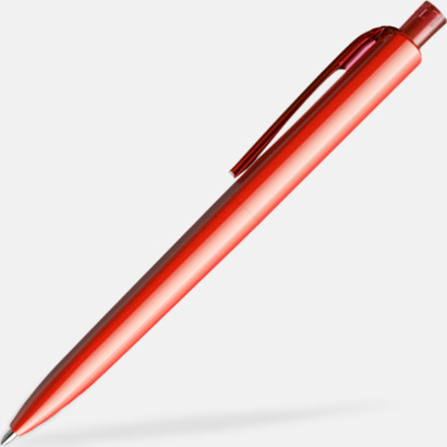 Röd (polished) Funktionella Prodirpennor med reklamtryck