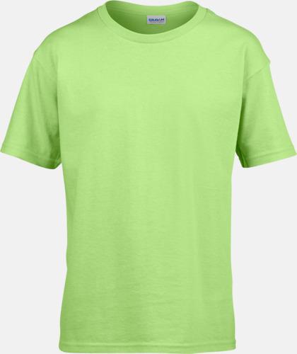 Mintgrön Billiga t-shirts med reklamtryck