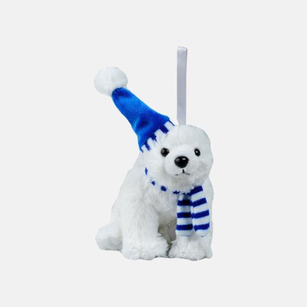 Isbjörn Små maskotar att hänga i bilen - med reklamtryck