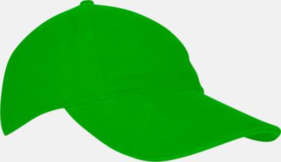 Limegrön Våra populära sportiga barnkepsar med egen brodyr