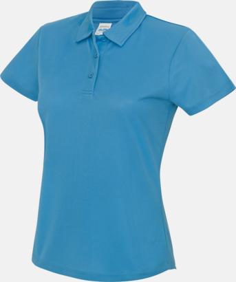 Sapphire Blue Dampikétröjor i många färger - med reklamtryck