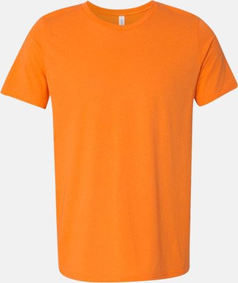 Neon Orange Unisex t-shirts i spräckliga färger med reklamtryck