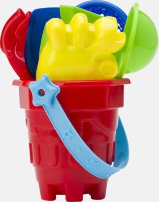 Strandhink med leksaker - med reklamtryck