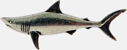 Haj Engelska, handgjorda broscher med jaktmotiv
