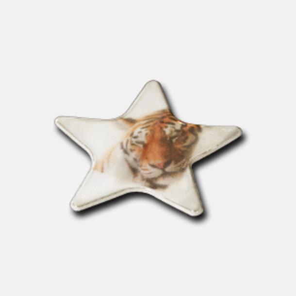 Prisgrupp 2 (Stjärna) Reflexklisterlapp med reklamtryck