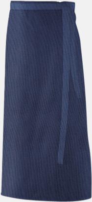 Marinblå (90 x 60 cm) Förkläden i 5 varianter med reklamtryck