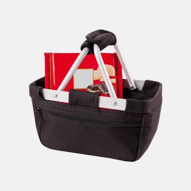 Shopping- & picknickkorg med reklamtryck