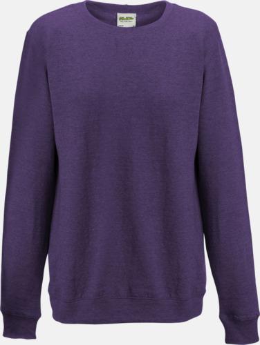 Purple Heather (dam) Heather tröjor i unisex- och dammodell med reklamtryck