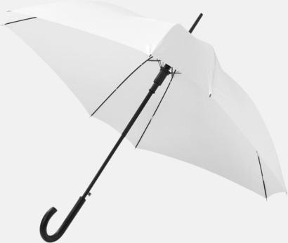 Billiga paraplyer i fyrkantig form - med reklamtryck